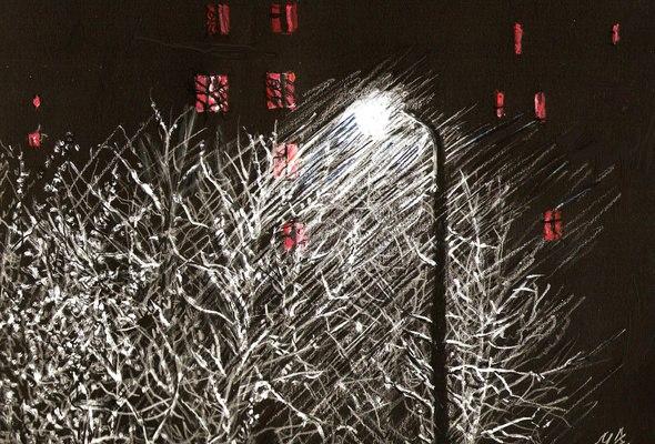 Самотній ліхтар