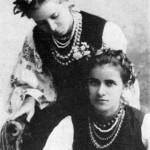 Леся Українка З сестрою Ольгою, 1896 р.