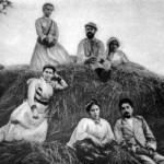 Леся Українка З родичами, 1898 р.