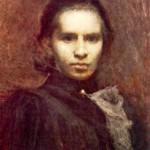 Леся Українка І.Труш. Портрет Лесі Українки. 1900 р.