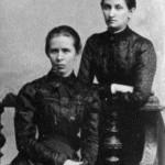 Леся Українка З Ольгою Кобилянською, 1901 р.