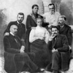 Леся Українка З українськими письменниками, 1903 р.