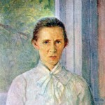 Леся Українка Ф.Красицький. Портрет Лесі Українки. 1904 р.