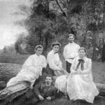 Леся Українка З друзями, 1904..1905 рр.