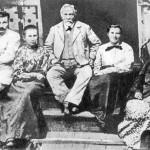 Леся Українка З родичами, 1905 р.