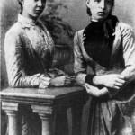 Леся Українка З Маргаритою Комаровою, 1889 р.