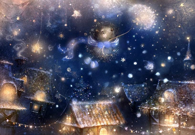У ліхтарях, у зорях і у небі...