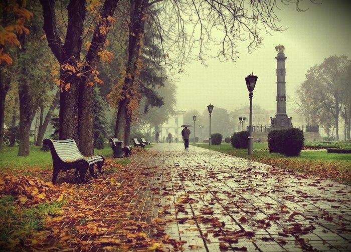 стільки спогадів, коли бродиш рідним містом…
