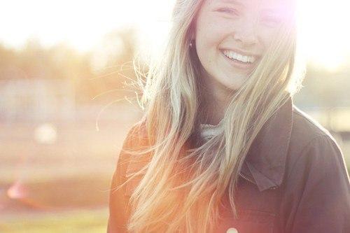 Щоб відчути твою усмішку...